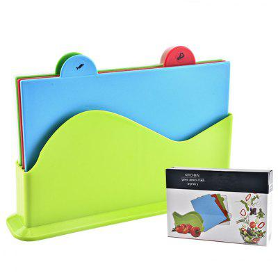 Classification Cutting Board Baby Food Chopping Block 4pcs square chopping board