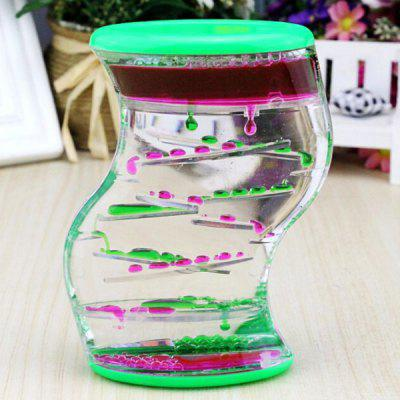 S-shaped Twisting Double Slide Oil Hourglass цены