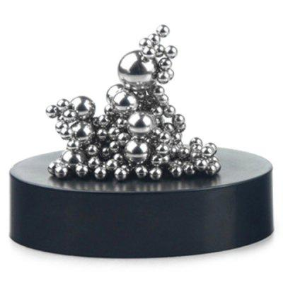 DIY Magnetic Ball Sculpture Squishy Toy Set magnetic toy 77pcs mini magnetic models
