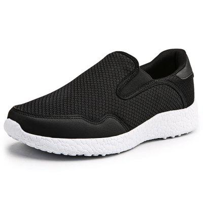 Men Fashion Breathable Comfort Casual Flat Shoes 2017 wholesale hot breathable mesh man casual shoes flats drive casual shoes men shoes zapatillas deportivas hombre mujer