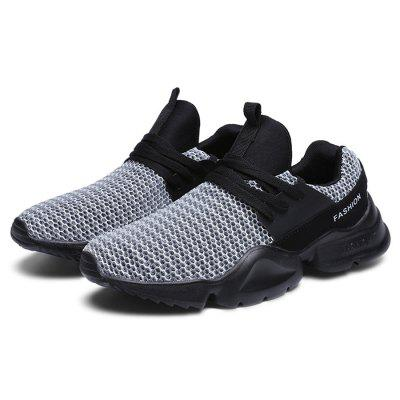 Men Casual Breathable Comfort Rubber Sneaker Shoes