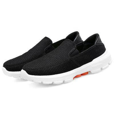 Men Stylish Breathable Casual Flat Shoes 2017 wholesale hot breathable mesh man casual shoes flats drive casual shoes men shoes zapatillas deportivas hombre mujer