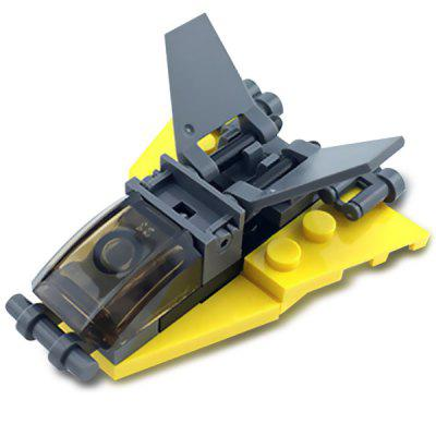 DIY Mini Victory III Spaceship Style Military Construction Toy Building Blocks for Kids Toddlers