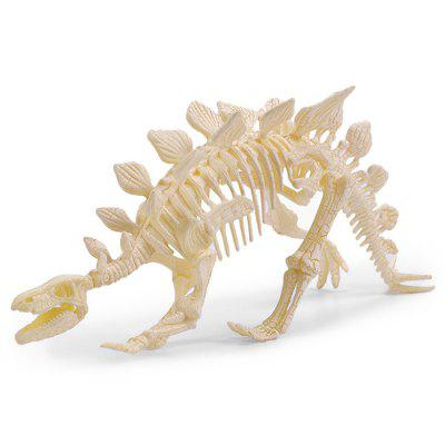 Copii 4D asamblate Dinosaur Fossil Model Toy