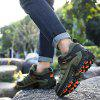 Men Fashion Breathable Anti-slip Shock-absorbing Sports Shoes - ARMY GREEN