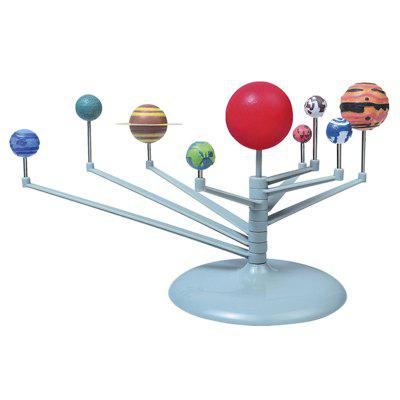 DIY Assembly Nine Planet Solar System Model Set