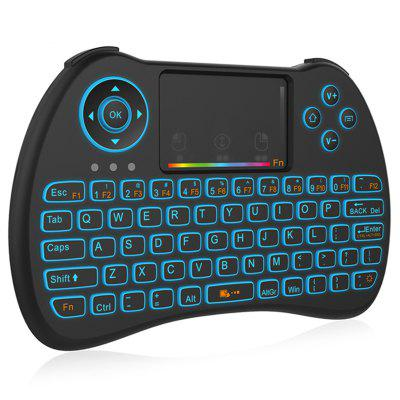 H9 2.4GHz Wireless Remote Control Air Mouse Keyboard mele f10 deluxe wireless air mouse keyboard remote control