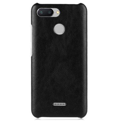 Luanke Litchi Grain Phone Back Case per Xiaomi Redmi 6