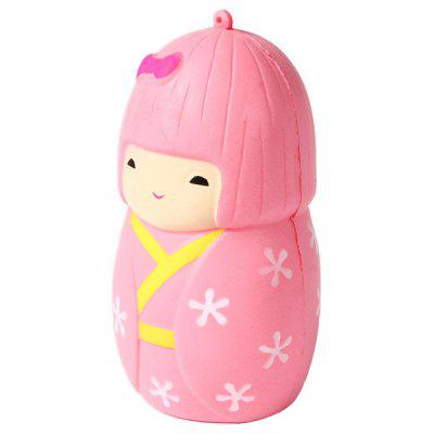 Cartoon Squeeze Slow Rising Stress Relief Toy japanese anime native strawberry minifigure nude resin sexy girl pvc action figures model toy 18cm free shipping ka0489