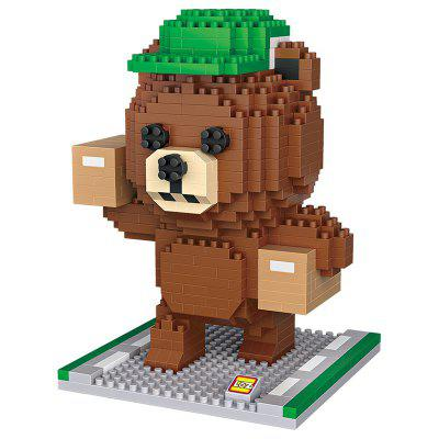 LOZ - Courier Bear Mini Block Toys