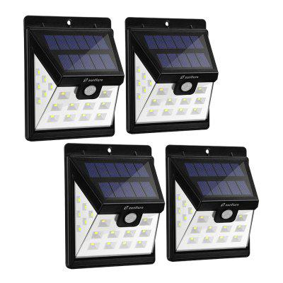 zanflare HJ001 22 LED Solar Floodlight (4 opakowania)