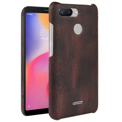 Luanke Wood Grain Phone Back Case para Xiaomi Redmi 6