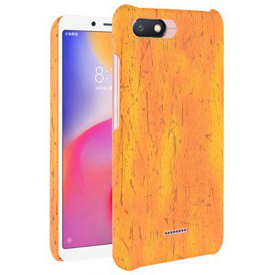Luanke Wood Grain Phone Back Case for Xiaomi Redmi 6A