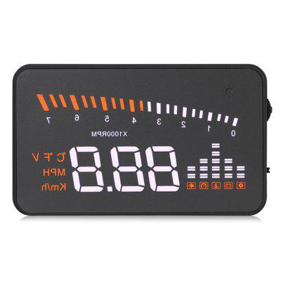 X5 3 inch HUD Projector Head Up Display OBDII Speedometer