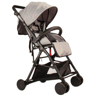 GIFT Lightweight High Landscape Foldable Stroller - PLATINUM
