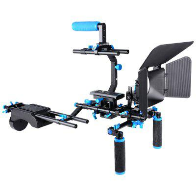 DSLR / VCR Rig Movie Kit Shoulder Mount for Camera Camcorder