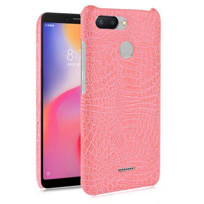 Luanke Crocodile Grain Phone Back Case para Xiaomi Redmi 6