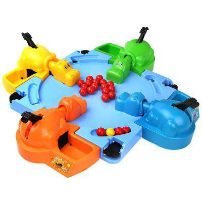 Feeding Hungry Hippo Marble Swallowing Ball Toy
