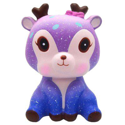 Jumbo Squishy Galaxy Deer PU Slow Rising Toy
