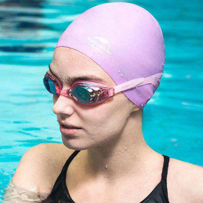 NatureHike Male and Female Waterproof Silicone Swimming Cap
