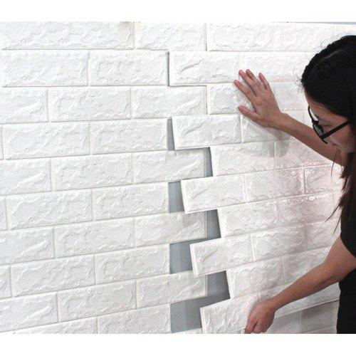 environmental 3d stereoscopic brick wall paper sticker - $15.24 free