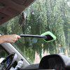 Microfiber Car Windshield Easy Cleaner Detachable Handle Brush - BLACK