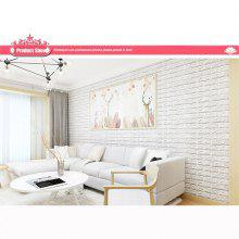 3d Solid Color Wall Sticker for Bedroom Decoration