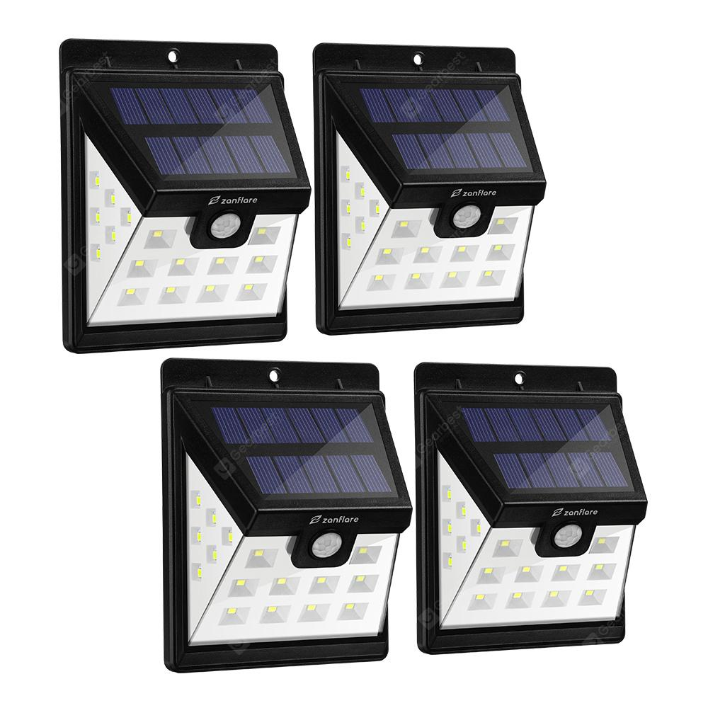 Zanflare HJ001 22 LED Solar Floodlight (4 pakke)