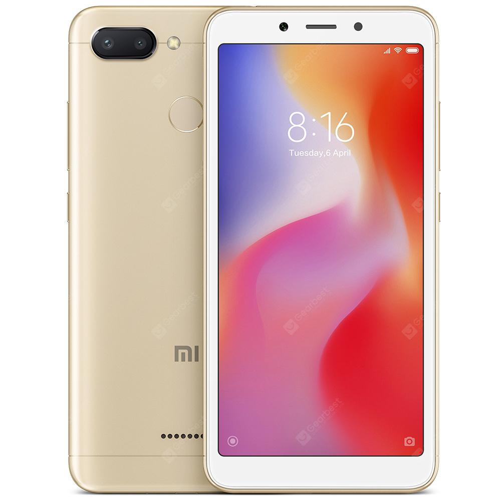 Xiaomi Redmi 6 4G Smartphone Global Version - GOLD 3+32GO (entrepôt EU)