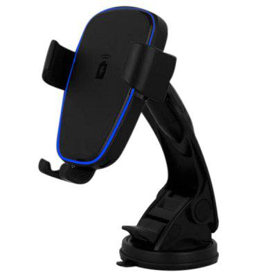 Wireless Car Mount Charger Gravity Linkage Fast Charging for Mobile Phone