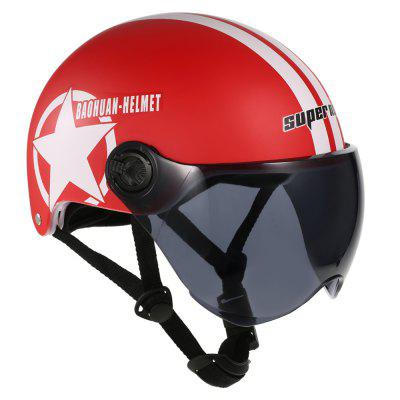 Half Open Face Helmet Motorcycle