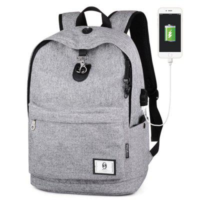 Trendy Anti-theft Travel Laptop Backpack with USB Port multifunction 1517 men laptop backpack external usb charge computer backpacks anti theft waterproof bags for men school bag
