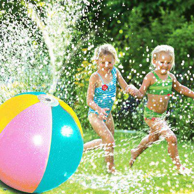 PVC Inflatable Water Jet Beach Ball Toy free shipping wholesale price 1 0mm tpu best quality body zorb ball bubble soccer inflatable loopy ball bumper ball