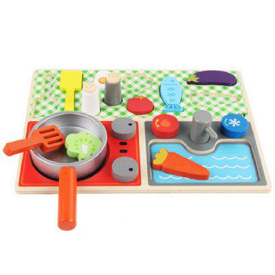 Play House Pretend Cookware Kitchen Set Toy