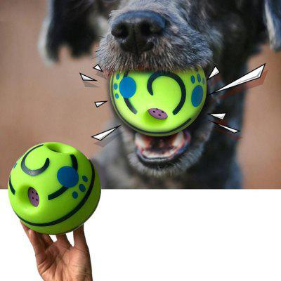 Creative Interactive Dog Toy Ball Play Training Tool with Funny Sound