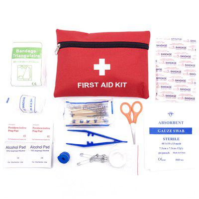 First Aid Kit Medical Bag Emergency Tool 13PCS