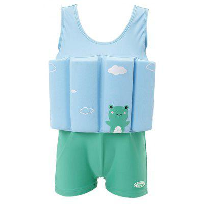 Children Swimwear Siamese Buoyancy Swimwear