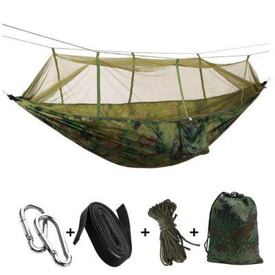 Outdoor Double Camping Hammock with Mosquito Net