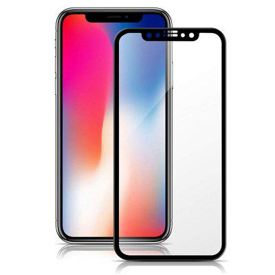 Anti Blue Ray Gehard Glas Volledige dekking Screen Protector Film voor iPhone X