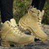 Men Outdoor Anti-slip Durable Warm Sports Boots - TAN