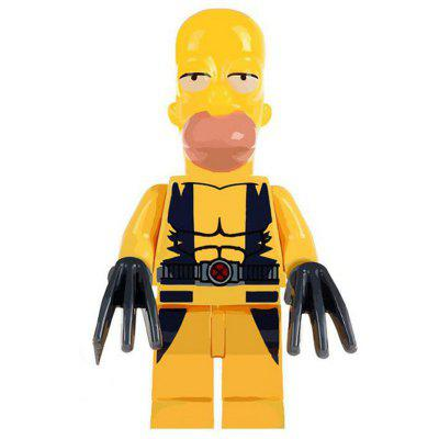 Yellow Man Decoration Doll Toy