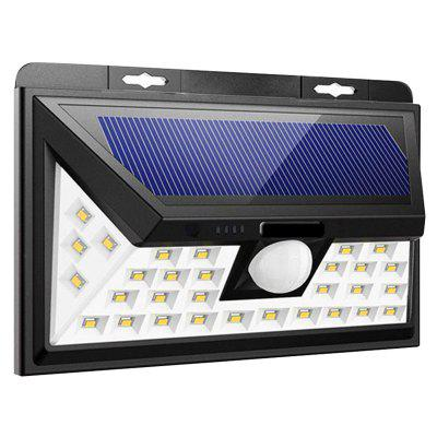 BRELONG 34-LED Waterproof Solar Power Light