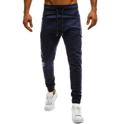 Men Fashion Solid Color Casual Pants men classic buckle casual hollow beach water sandals