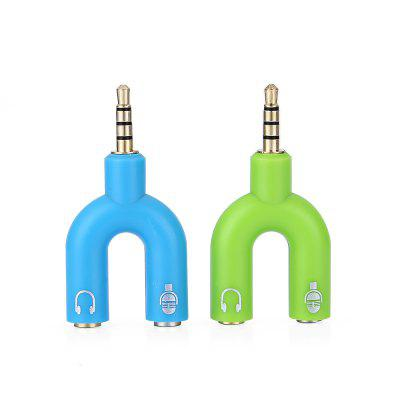3.5mm 1 do 2 pary Audio Cable Adapter Connector 2 SZTUK