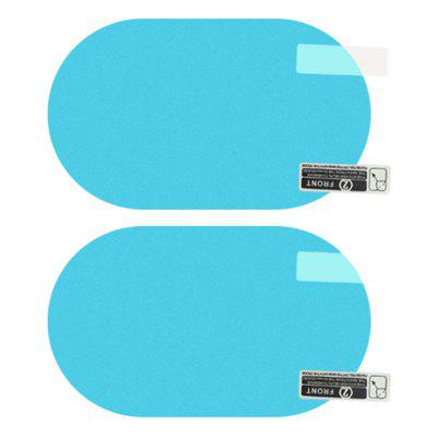 Vehicle Waterproof Anti-fog Rainproof Rearview Mirror Protective Film 2pcs