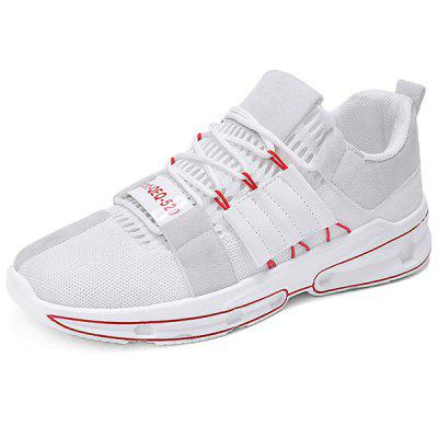 Trendy Splicing Breathable Shock-absorbing Sports Shoes