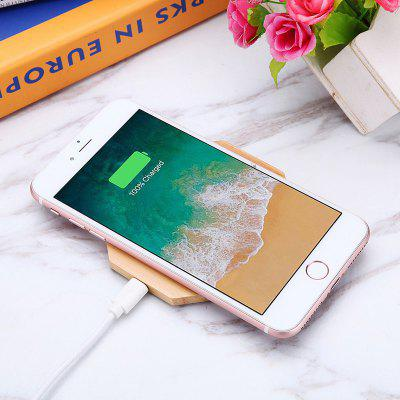 Creative Fashionable Bamboo Wood Wireless Charger