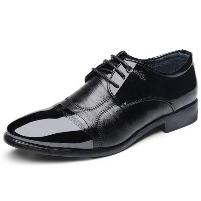 Men Stylish Business Leisure Anti-slip Dress Shoes