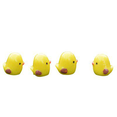 Mini Chicken Shape Micro Landscape Decoration 20pcs
