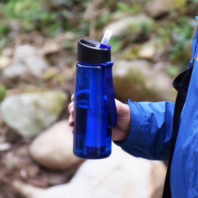 400ml Sports Outdoor Filter Water Bottle usb 400ml hydrogen ionizer water cup generator healthy portable anti aging bottle home office